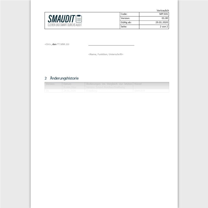 MP.501 - F&T Qualitätspolitik - SMAUDIT - DIN EN ISO 13485