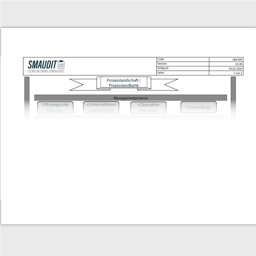 QM.405 - F&T Prozesslandschaft - SMAUDIT - DIN EN ISO 9001
